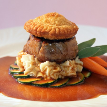 Deconstructed Beef Tenderloin Wellington